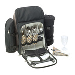 DR1570 - Kimberley 4 Setting Picnic Backpack Set