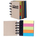 LRL8829s  - Spiral Notebook with Noteflags