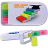 LRL0059 - Retractable Highlight Wax Markers in White Case